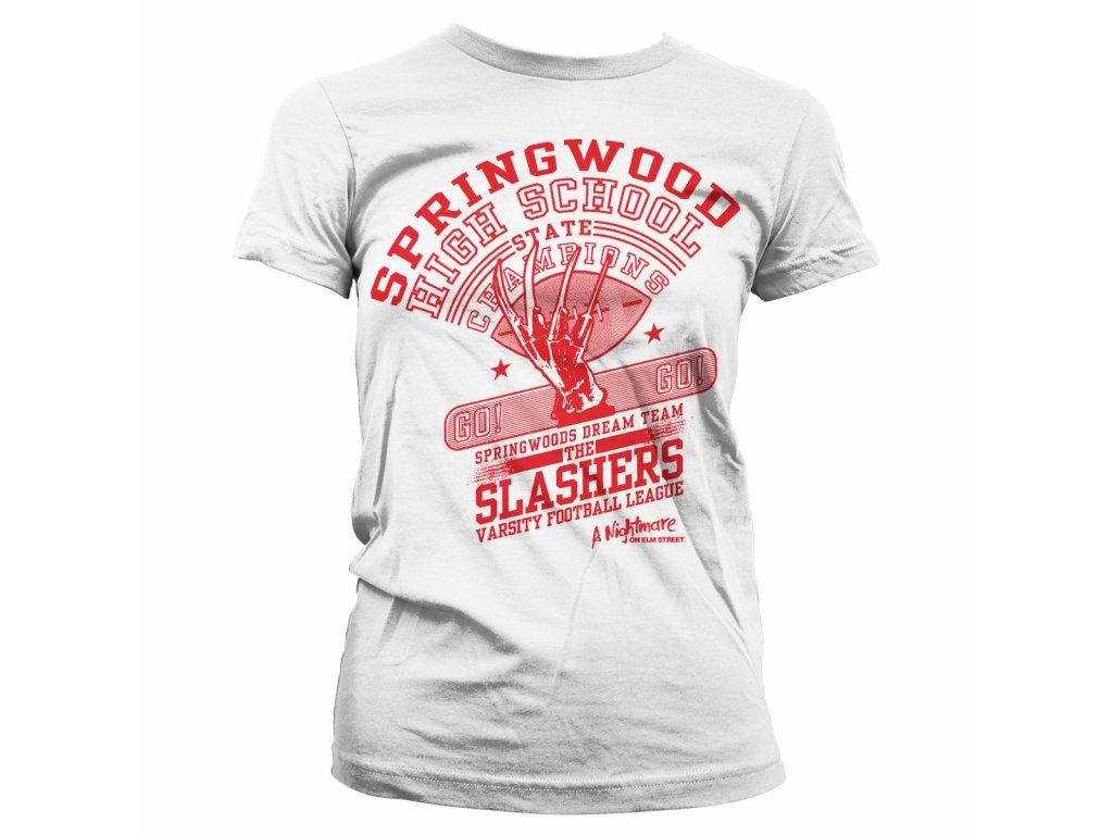 Dámské tričko The Slasher Dream Team (Výběr velikosti XXL)
