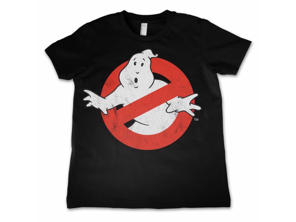 Dětské tričko Ghostbusters Distressed (Dětské velikosti 8 rokov)