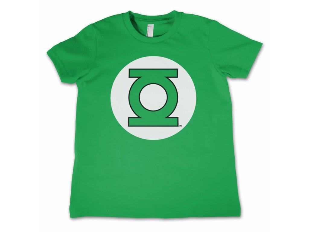 Dětské tričko Green Lantern Logo (Dětské velikosti 8 rokov)