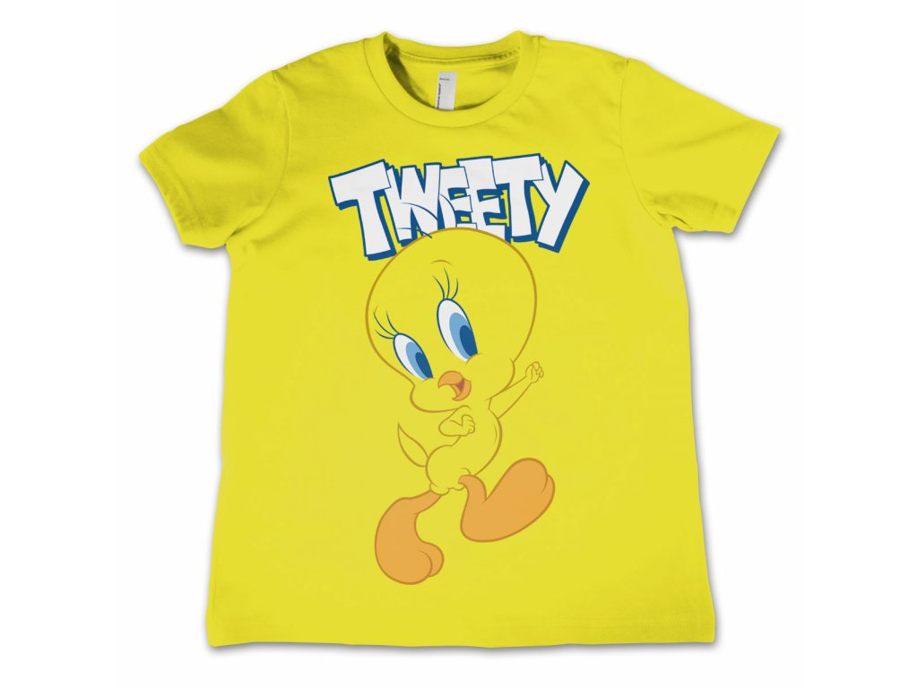 Dětské tričko LOONEY TUNES TWEETY (Výběr velikosti 8 rokov)