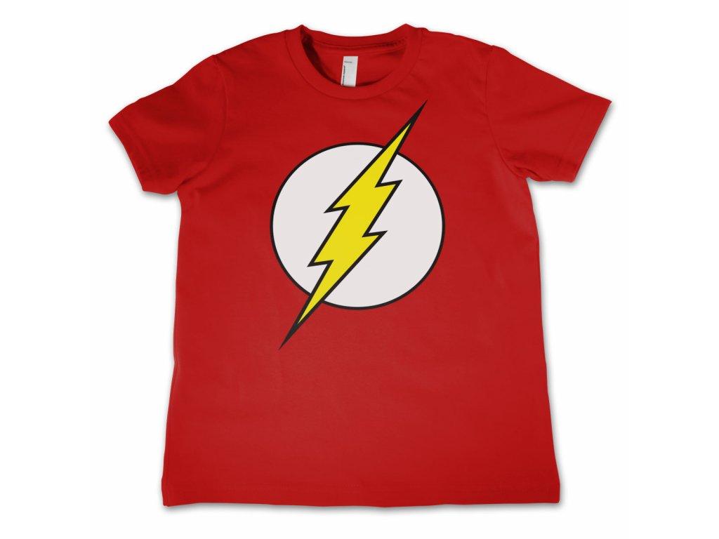 Dětské tričko The Flash Emblem (Dětské velikosti 8 rokov)