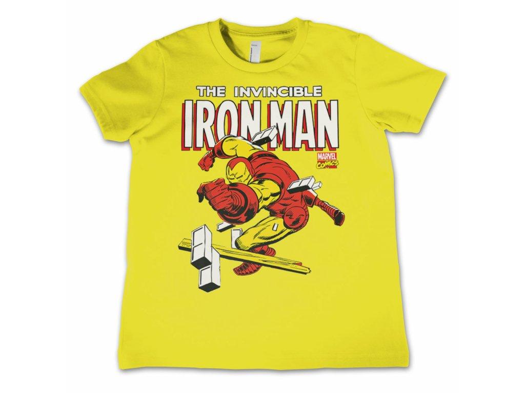 Dětské tričko The Invincible Iron Man (Dětské velikosti 8 rokov)