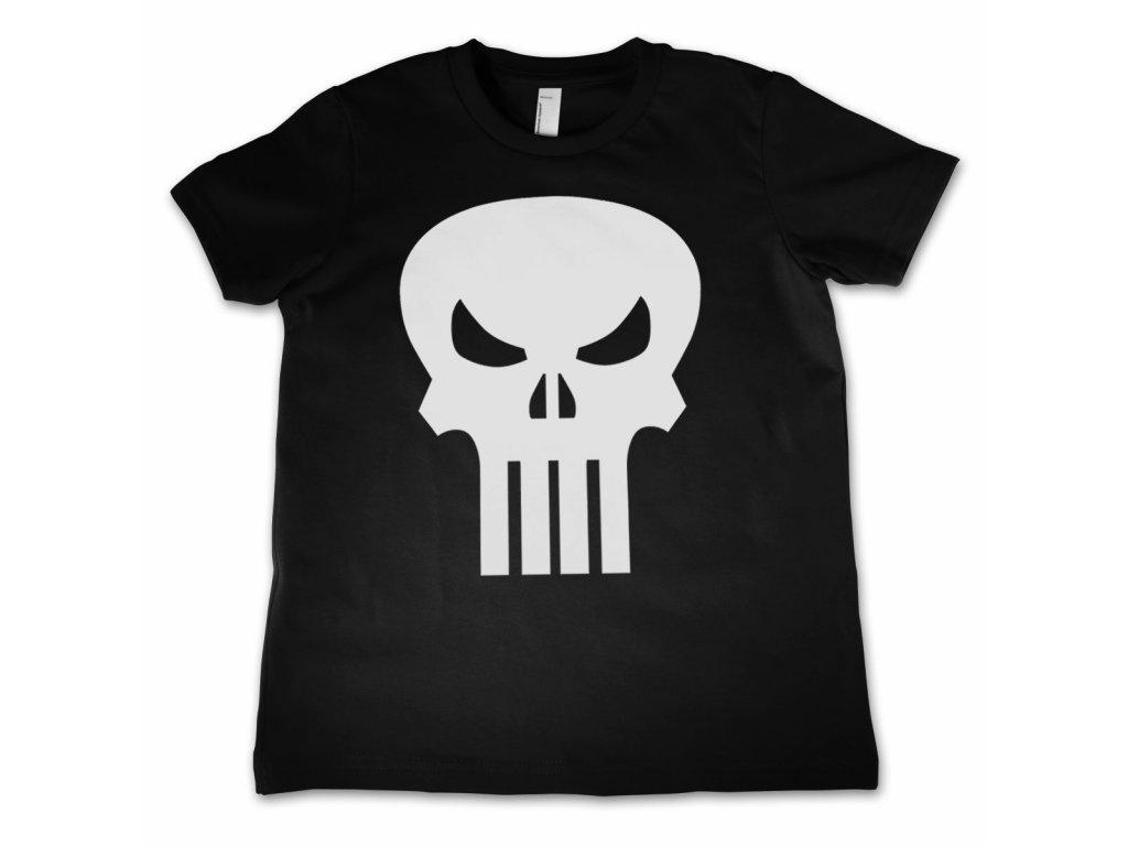 Dětské tričko The Punisher Skull (Dětské velikosti 8 rokov)