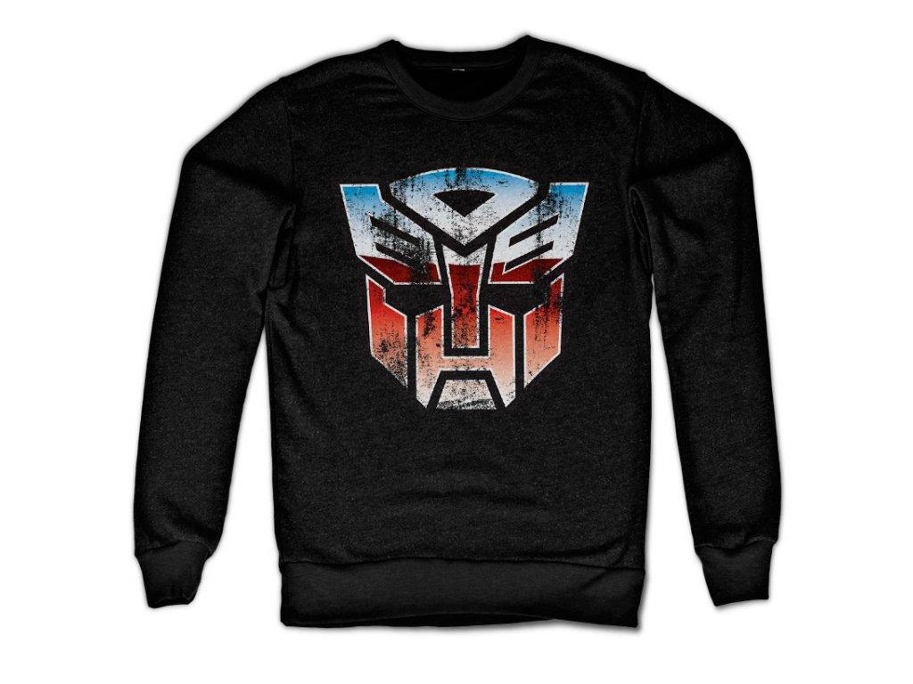 Distressed Autobot Shield Sweatshirt (Výběr velikosti XXL)