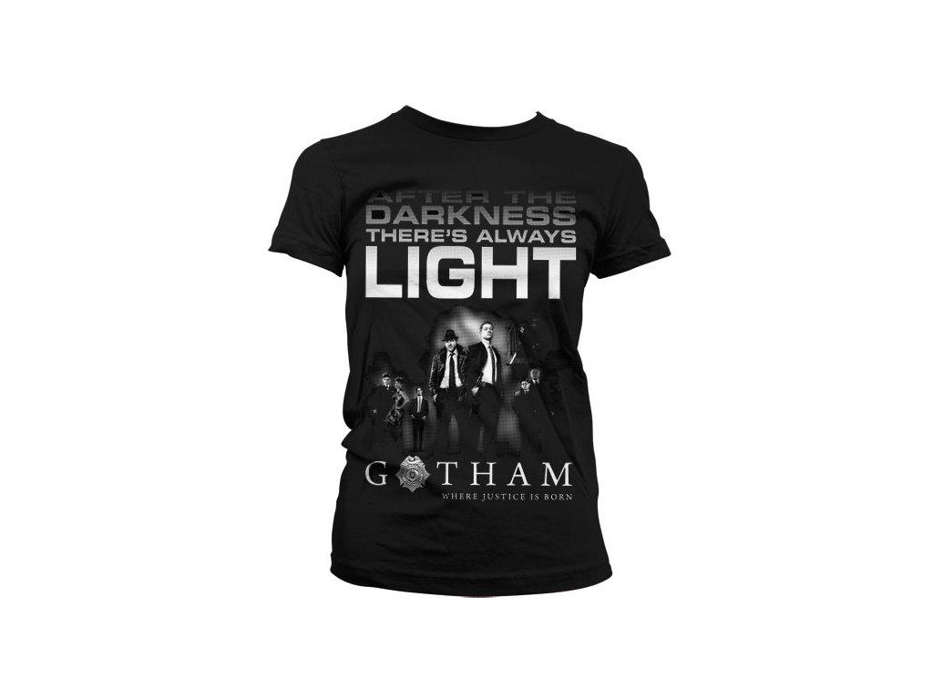 Gotham - After Darkness Girly T-Shirt (Výběr velikosti XXL)