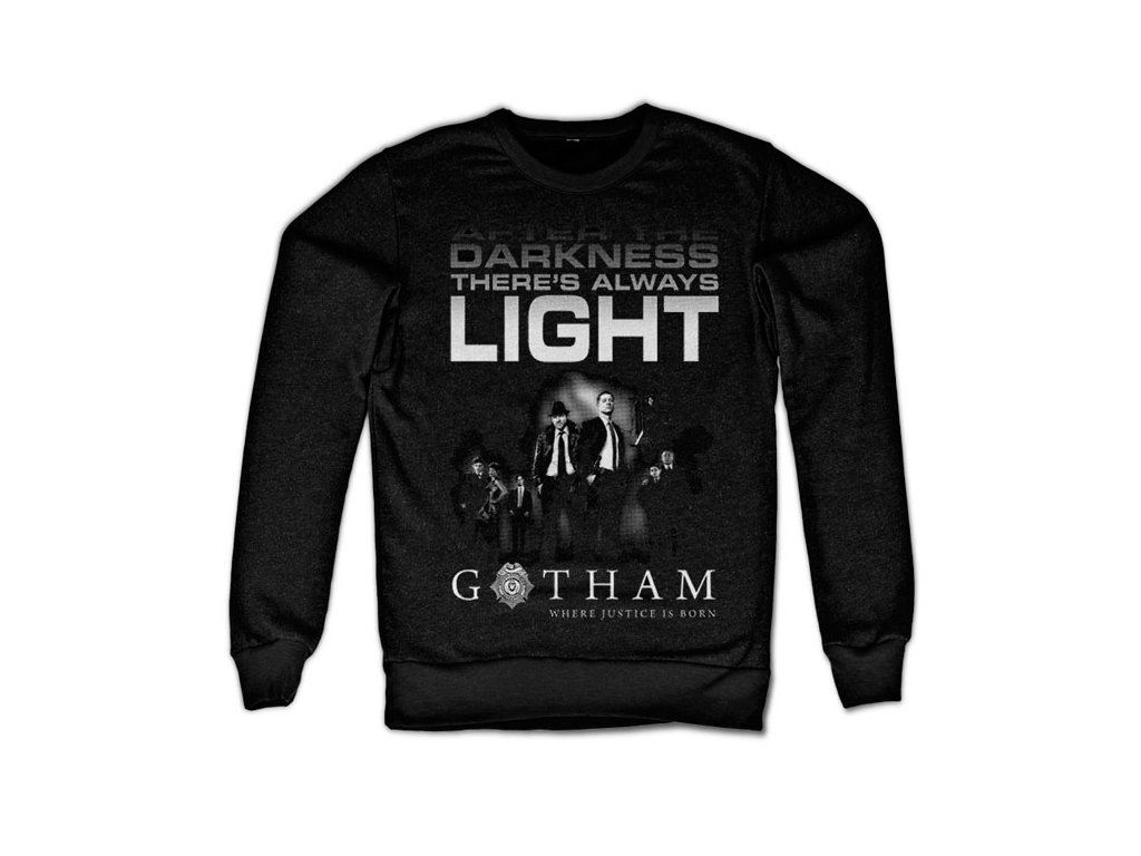 Gotham - After Darkness Sweatshirt (Výběr velikosti XXL)