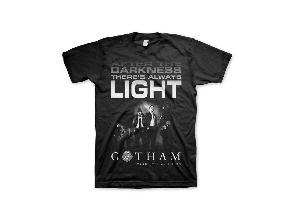 Gotham - After Darkness T-Shirt (Výběr velikosti XXXL)