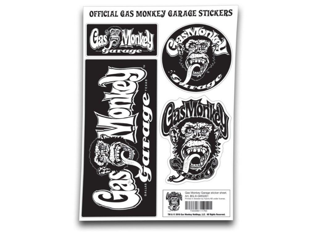 18295 nalepky gas monkey garage