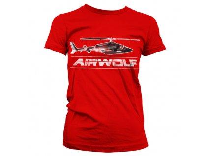 Dámské tričko Airwolf Chopper Distressed (Výběr velikosti XXL)