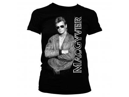 Dámské tričko Cool Macgyver (Výběr velikosti XXL)