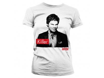 Dámské tričko Dexter Killer (Velikost XXL)