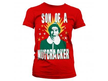 Dámské tričko ELF Son Of A Nutcracker (Výběr velikosti XXL)