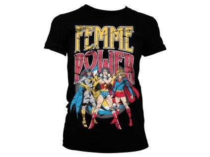 Dámské tričko Femme Power (Výběr velikosti XXL)