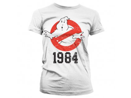Dámské tričko Ghostbusters 1984 (Výběr velikosti XXL)