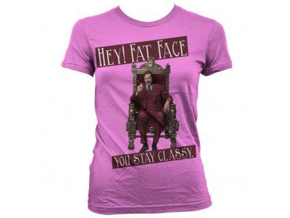 Dámské tričko Hey! Fat Face (Výběr velikosti XXL)