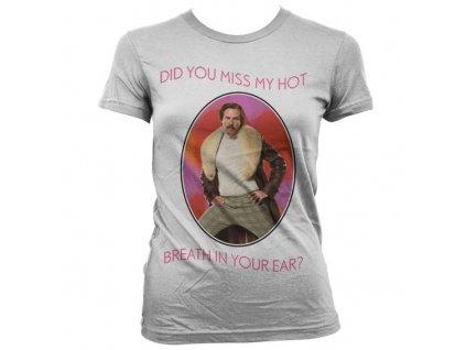 Dámské tričko Hot Breath In You Ear (Výběr velikosti XL)