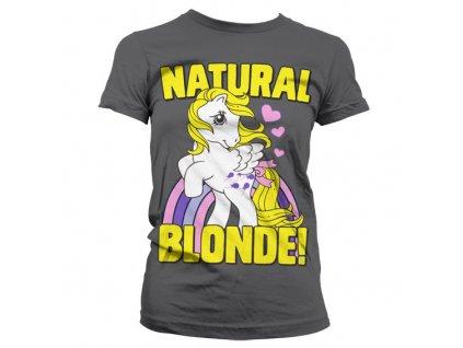 Dámské tričko My Little Pony Natural Blonde (Barva Zelená, Velikost XXL)
