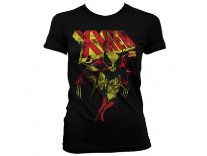 Dámské tričko X-Men Distressed (Velikost XXL)