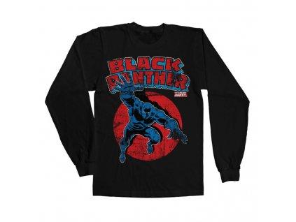 Marvel Comics - Black Panther Long Sleeve Tee (Výběr velikosti XXL)