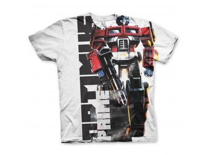 Optimus Prime Allover T-Shirt (Výběr velikosti XXL)