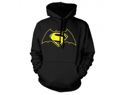 Pánská mikina Batman Vs Superman Logo (Výběr velikosti XXL)