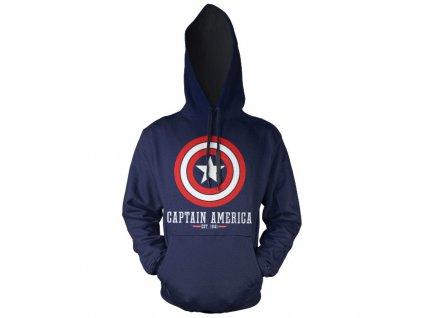 Pánská mikina Captain America Logo (Velikost XXL)
