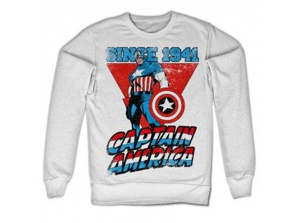 Pánská mikina Captain America Since 1941 (Velikost XXL)