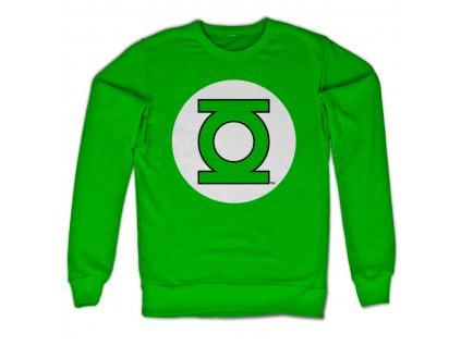 Pánská mikina Green Lantern Logo (Výběr velikosti XXL)