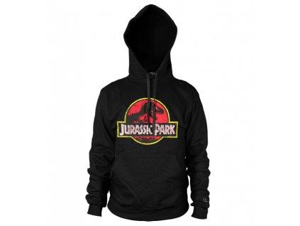 Pánská mikina Jurassic Park Distressed Logo (Výběr velikosti XXL)
