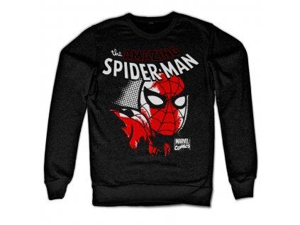 Pánská mikina Spider-Man Close Up (Velikost L)