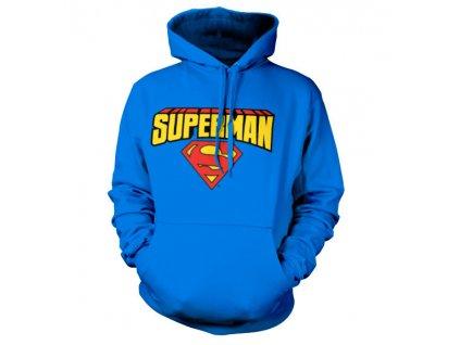 Pánská mikina Superman Blockletter (Výběr velikosti S)