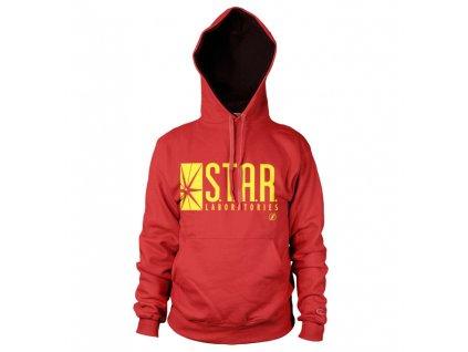 Pánská mikina The Flash Star Laboratories (Výběr velikosti XXL)