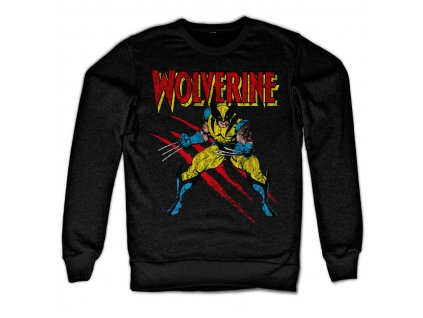 Pánská mikina Wolverine Scratches (Barva Šedá, Velikost XXL)