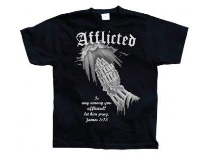 Pánské tričko Afflicted (Výběr velikosti 8 rokov)