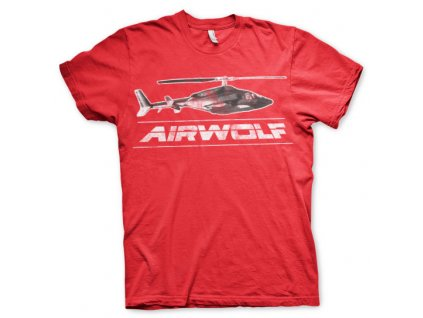 Pánské tričko Airwolf Chopper Distressed (Výběr velikosti XXL)