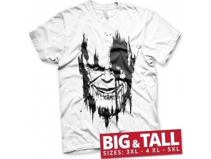 Pánské tričko Avengers Infinity War THANOS Big & Tall - 3XL, 4XL, 5XL (Velikost XXXL)