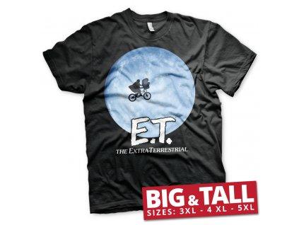 Pánské tričko E.T. Bike In The Moon Big & Tall (Výběr velikosti XXXXXL)