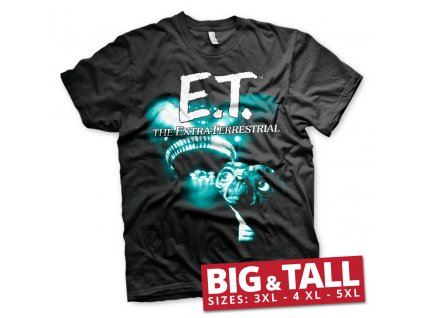 Pánské tričko E.T. Duotone Big & Tall (Výběr velikosti XXXXXL)