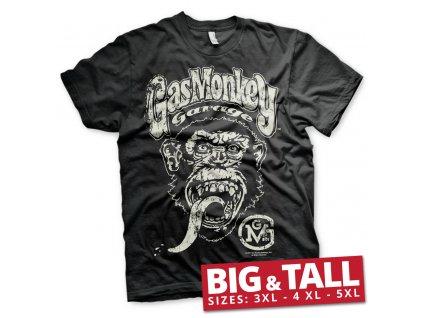 Pánské tričko Gas Monkey Garage Big Brand Logo Big & Tall (Výběr velikosti XXXXXL)