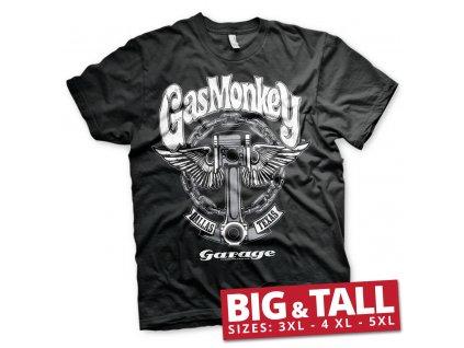Pánské tričko Gas Monkey Garage Big Piston Big & Tall (Výběr velikosti 5XL)