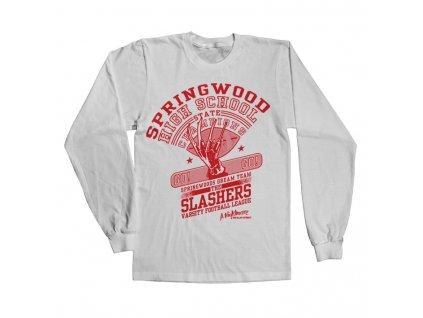 Pánské tričko s dlouhým rukávem  The Slasher Dream Team (Výběr velikosti XXL)