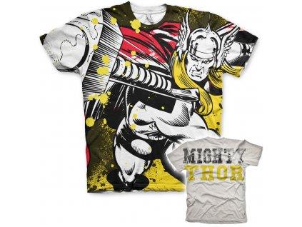 Pánské tričko Thor Allover (Výběr velikosti XXL)