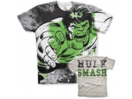 The Hulk Allover T-Shirt (Výběr velikosti XXL)