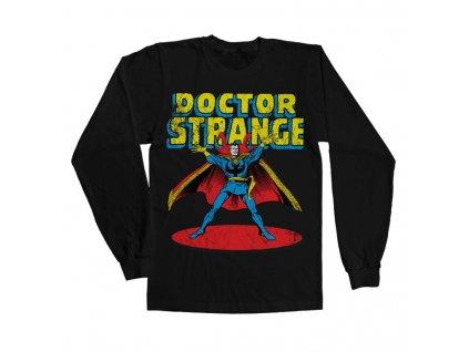 Tričko s dlouhým rukávem Marvels Doctor Strange (Výběr velikosti XXL)