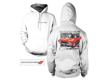 Pánská mikina Dodge - Red Challenger (Výběr velikosti XXL)