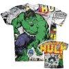 The Hulk Comic Allover T-Shirt (Výběr velikosti XXL)