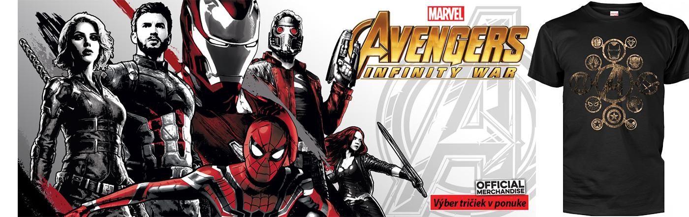 Tričká, Mikiny Avengers