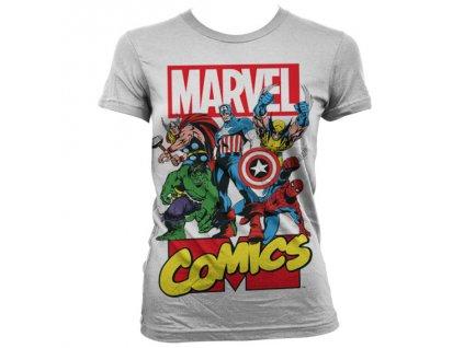 Dámske Tričká Marvel