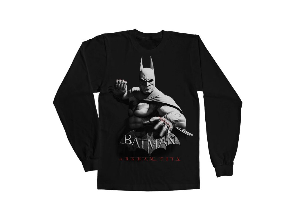 Tričká s dlhým rukávom Batman