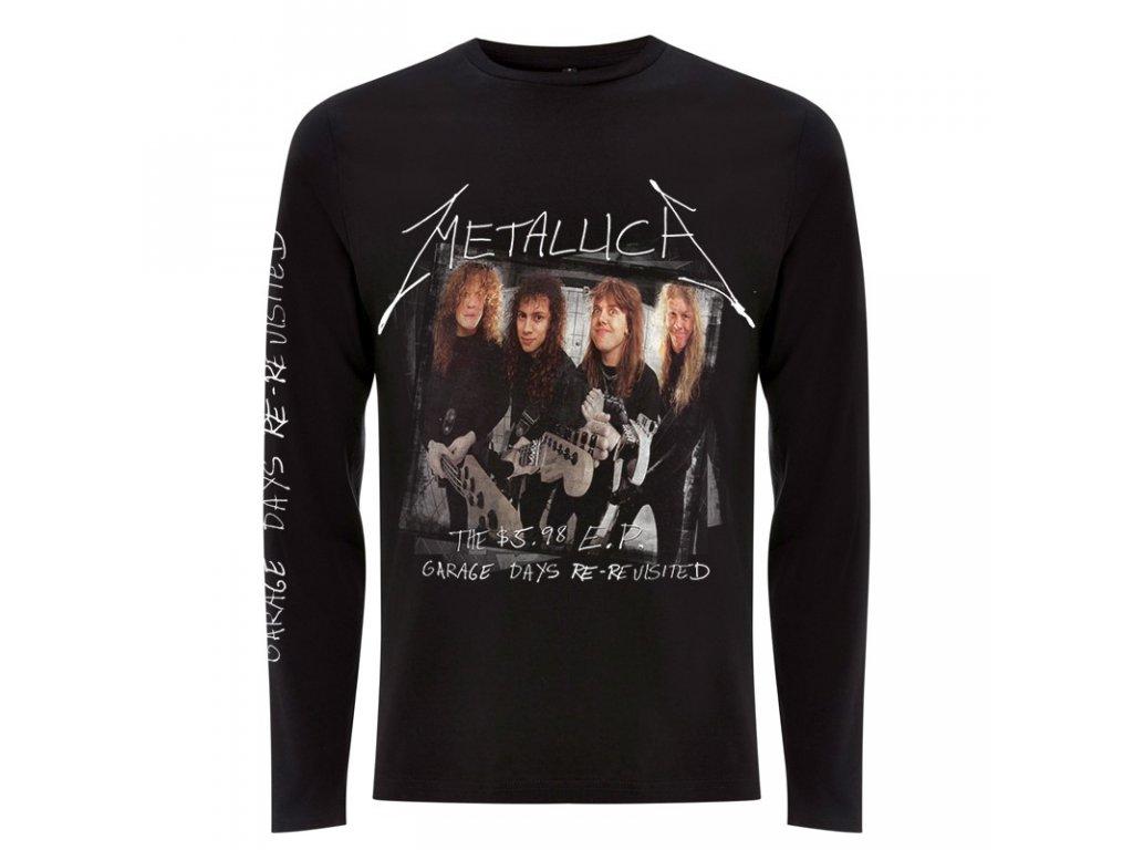 Tričká s dlhým rukávom Metallica